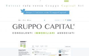 Twitter vola verso Gruppo Capital Srl