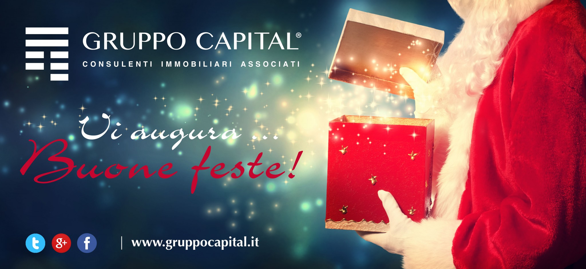 #GruppoCapital vi augura Buone Feste!