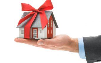 vendere casa donata