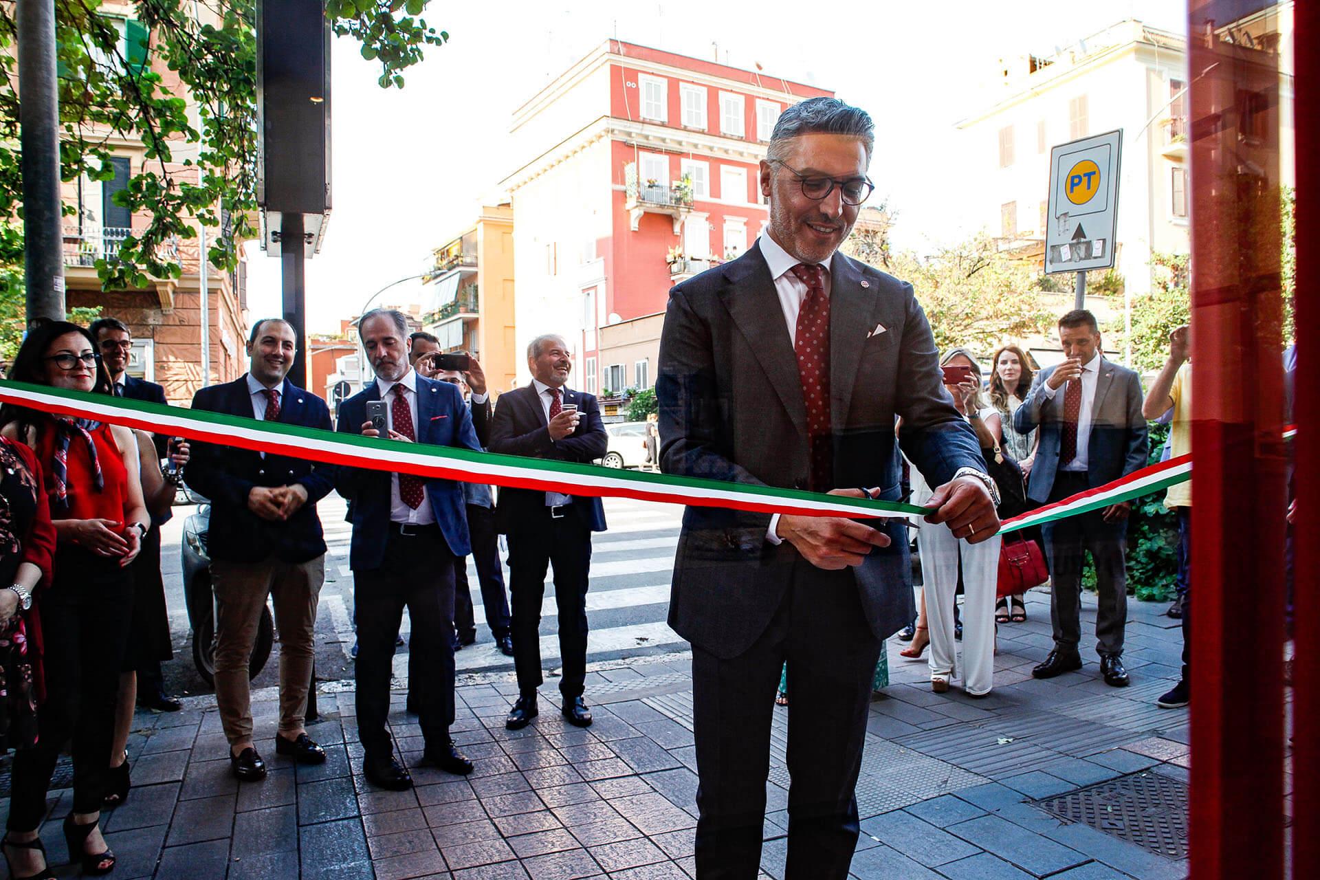Inaugurazione nuova sede Gruppo Capital a Roma San Giovanni