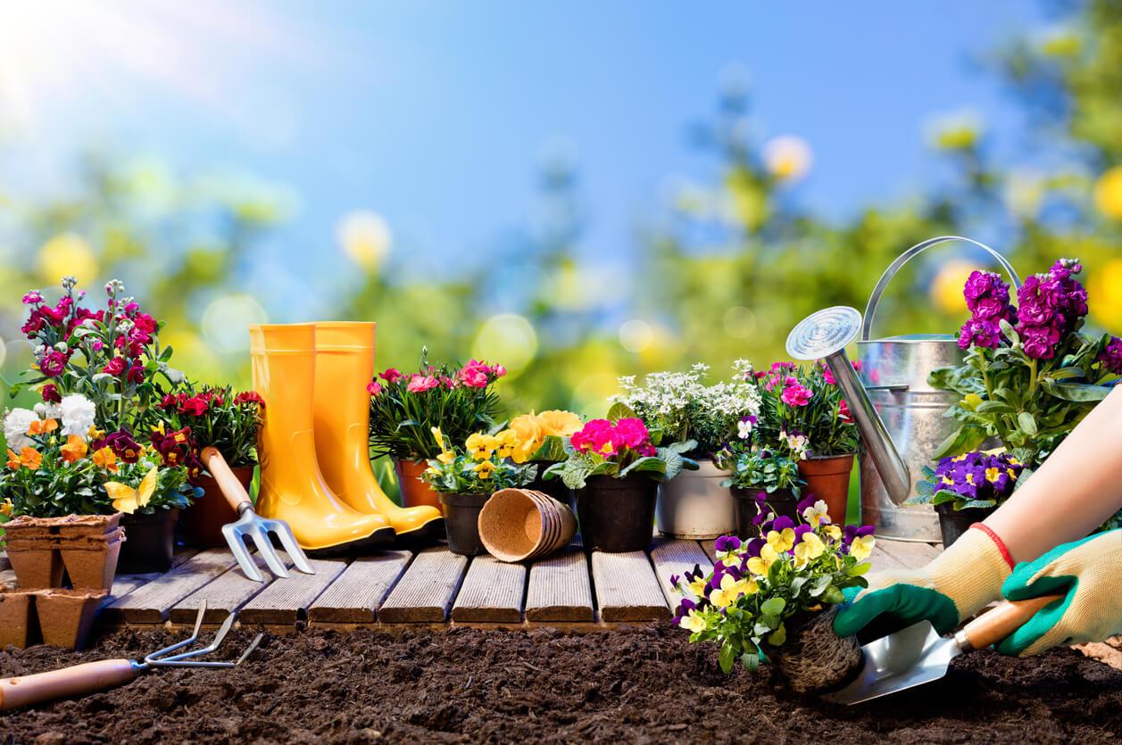 5 idee per arredare giardini fai da te